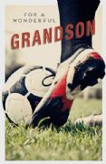 Grandson Football Birthday Card